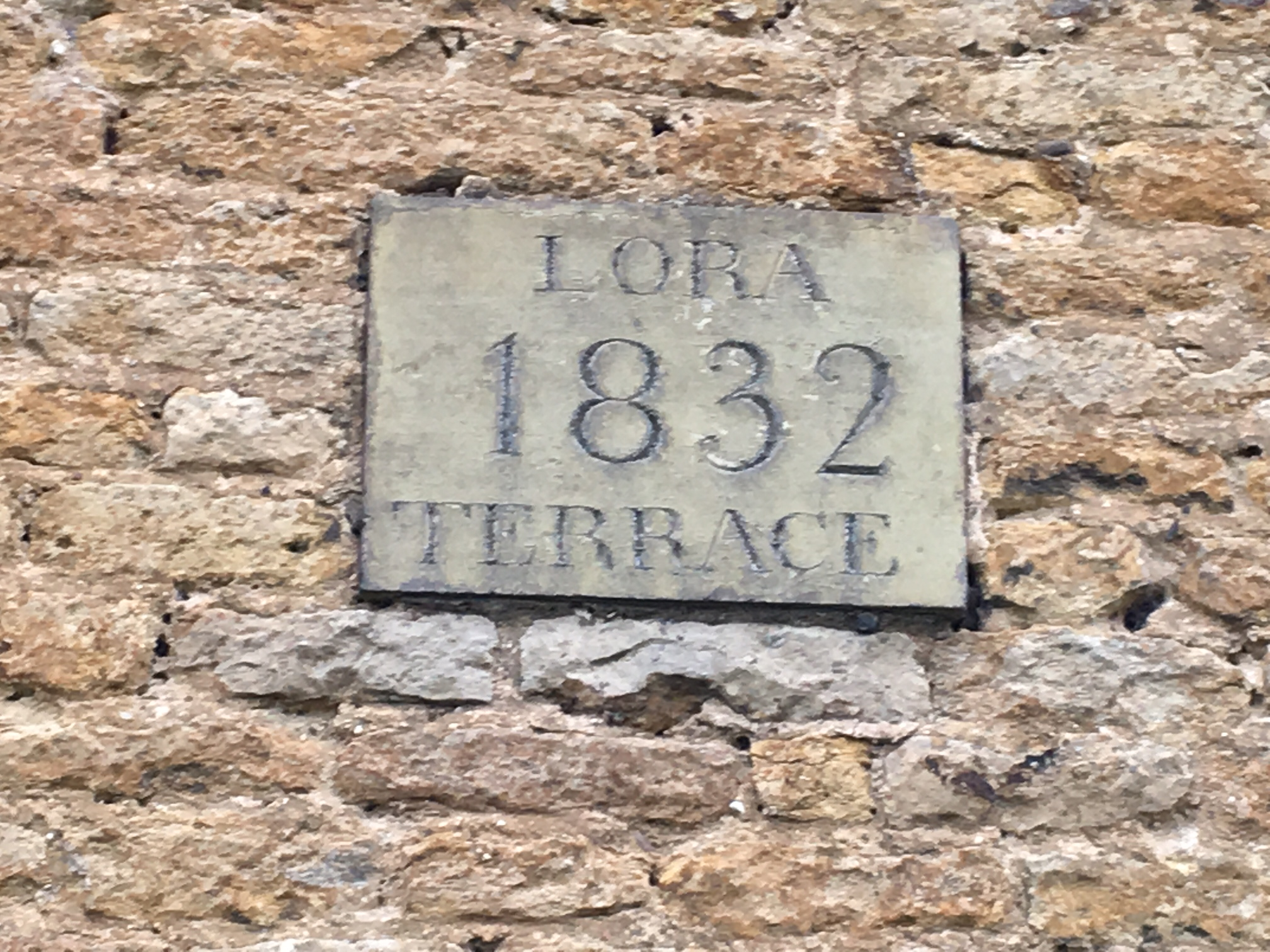 Lora Terrace sign