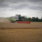Harvesting barley 2017